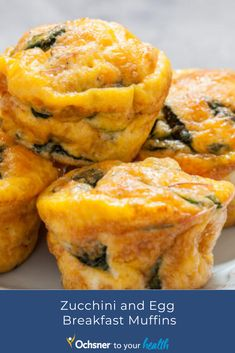 Zucchini and egg muffins are a great way to have a healthy breakfast. These delicious and nutritious muffins can also be placed in the freezer for up to 3 months! Egg Muffins, Breakfast Muffins, Eating Healthy, 3 Months, Freezer, Zucchini, Eggs, Healthy Recipes, Dinner