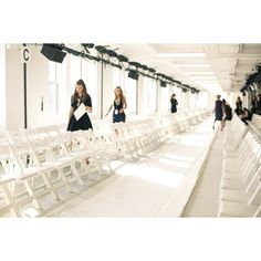 NYFW behind the scenese ❤ liked on Polyvore featuring pictures, backgrounds, photos, pics and places