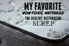 After years of looking for affordable non-toxic bedding, I've finally found a company I love. Best. sleep. ever. In this post, we'll talk about what makes them different.