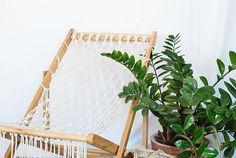 DIY Macramé Deck Chair