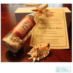 Starfish Glow Message In A Bottle Beach by InvitationInABottle, $6.00