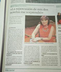 Reportaje de la presentación de la novela LADRONA DE VIDAS en Sarria.