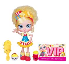 AmazonSmile: Shopkins Popette Shoppies Doll: Toys & Games