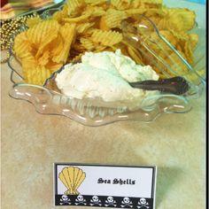 Pirate food Sea shells