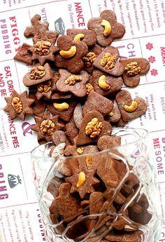 Ciasteczka kruche kakaowe L_06