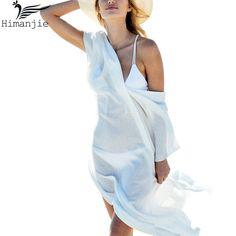 Пикантные Cover-Up шифон Купальники Бикини Туника купальник длинные пляжное платье кафтан парео саронги ванный комплект крышку ИБП Robe De Plage