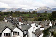 Hawkshead village Lake District