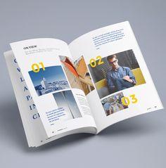 Creative Photorealistic Magazine MockUp