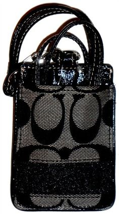 Coach 61766 Black Signature Lanyard ID Badge Case Holder Nwt Coach Handbags Outlet, Coach Outlet, Cheap Handbags, Coach Purses, Purses And Handbags, Designer Handbags On Sale, Cheap Designer, Cheap Coach Bags, Office Fashion Women
