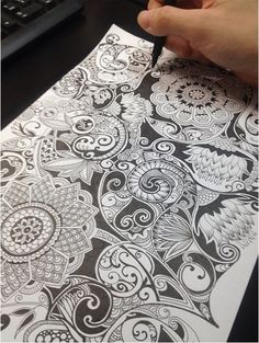 Wish I could doodle like this