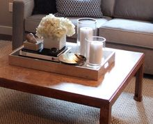 Coffee Table Decor Tray Amazing 10Try Your Hand At A Tablescapestart With A Rectangular Tray Inspiration