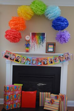 Rainbow Party Birthday Party Ideas