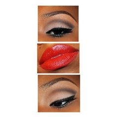 African American Makeup found on Polyvore featuring beauty products, makeup, african beauty products, american beauty products and african american beauty products