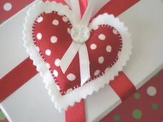 Christmas Heart Ornaments Decoration