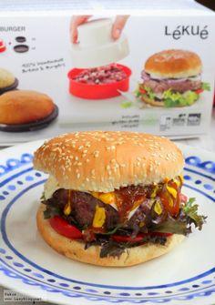 Lazy Blog: Hamburguesa con corazón cremoso de queso y boletus | Stuffed burger with a creamy cheese and mushroom core