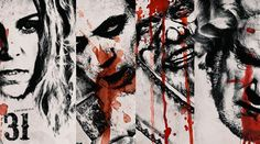 Rob Zombie has unveiled 4 new character movie posters for his forthcoming movie 31 Rob Zombie, Sheri Moon Zombie, The Devil's Rejects, Complete Music, Horror House, Latest Albums, Movie Releases, Moving Pictures, Metalhead