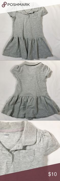 🎀 3/$20 - toddler collared shirt dress This heather gray dress was my favorite for my daughter. I just love the poof sleeves.  Choose any three $8 items for $20.  I will adjust the price accordingly in my offer. Old Navy Dresses Casual