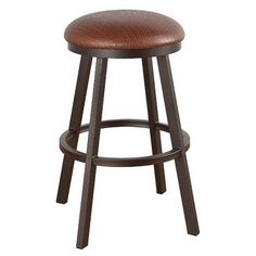 "Callee Claremont 34"" Swivel Bar Stool Frame Finish: Sun Bronze, Upholstery: Corona Earth"