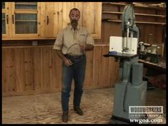 Woodworking Tips: Band Saw - Coiling a Band Saw Blade - YouTube