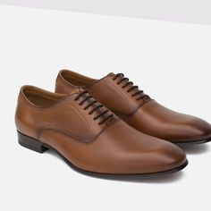 ZAPATO PIEL VESTIR-Zapatos-Zapatos-HOMBRE   ZARA Costa Rica