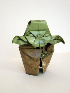 Pretty nice! Yoda as Origami! http://www.etsy.com/listing/75509359/figurine-origami-yoda-sculpture
