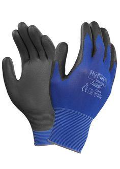 ANSELL HyFlex Montagehandschuhe 11-618 mit super Passform und Fingerspitzengefühl. Top Arbeitshandschuhe.