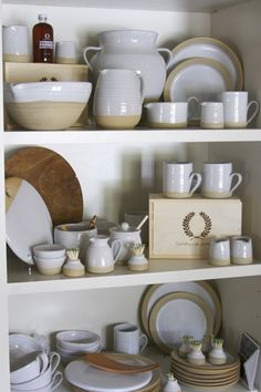 Farmhouse Pottery is made in Vermont and is perfect for your everyday needs. Epergne Nashville's newest MUST GO store. www.StyleBlueprint.com
