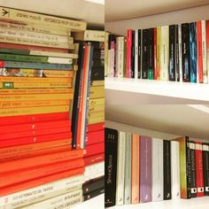 Trying to get my books in order... Por género? Color? Autor? Edad? Ainsss #books #bookshelf