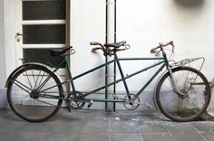 belgian tandem bike by europana on Etsy, Tandem Bicycle, Bicycle Maintenance, Bike Seat, Vintage Bicycles, Cycling Bikes, Cool Bikes, French Vintage, At Least, Cool Stuff