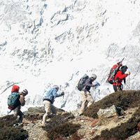 Rise to the challenge on a once-in-a-lifetime trek to Everest Base Camp with Abercrombie & Kent