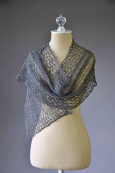 Starry Night Scarf Free Knitting Pattern