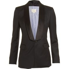 Can't have enough good black blazers. But I wouldn't dare pay Barneys price for one.