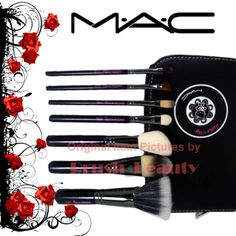 Hello Kitty MAC makeup brush set