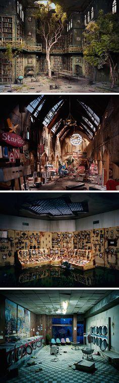 A Short Film Detailing the Miniature Replication of Nix + Gerber's Post-Apocalyptic Studio