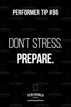 If you stress too much before the audition happens, you basically put yourself through the experience twice. #actingtips #actors #theatre #thespians #PerformerStuff Acting Quotes, Acting Tips, Theatre Nerds, Musical Theatre, Drama Education, Teaching Theatre, Documentary Filmmaking, Drama School, Theatre Quotes