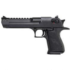 "Magnum Research Desert Eagle Mark XIX Semi Auto Handgun .357 Mag 6"" Barrel 9 Rounds Integral Muzzle Break Synthetic Grips Black Oxide Finish DE357IMB - 761226087229"