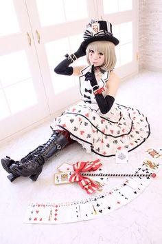 AP Royal Cards dress ♡