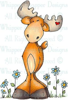 Al Dente - Woodland - Animals - Rubber Stamps - Shop