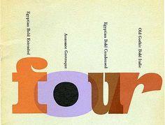 four bold types