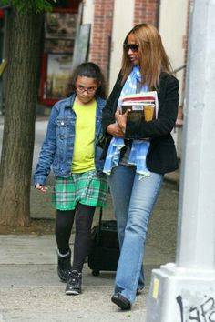 Off to school, NYC, 7th June 2012