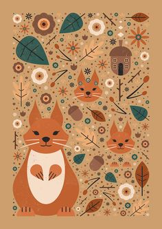 Carly Watts Art & Illustration: Squirrel Nutkin