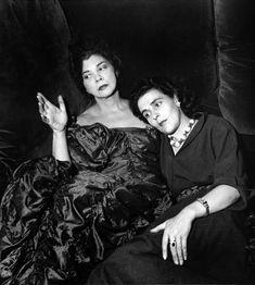 Leonor Fini & Leonora Carrington