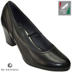 Be Natural by Jana női bőr cipő 8-22441-21 001 fekete kombi 7fa00f5214