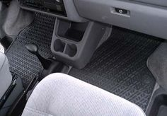 (or these for front) 1992-2003 EuroVan Rubber Front Floor Mats Genuine VW! High quality mats!