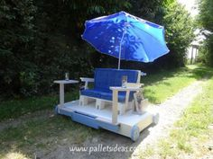 Amazing Achievement from Wooden Pallets | Pallet Ideas (shared via SlingPic)