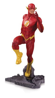 DC Comics The Flash Core Statue DC Core is DC Collectibles' first line of 9 inch scale statues produced in PVC. The character designs and attitudes are conjured up by DC Collectibles' Dc Comics, Star Wars Poster, Star Wars Art, Star Trek, The Flash, Costume Rouge, Superman Dawn Of Justice, Dc Tv Shows, Univers Dc