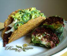 Raw Vegan Hard Shell Tacos - The Raw Veganista