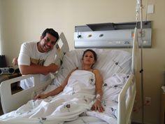 Primeira foto da prefeita de Flores – PE, Soraya Murioca após o acidente é divulgada