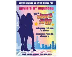 Shake It Up Custom Party Invitation (You Print). $14.95, via Etsy.