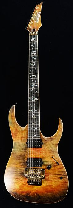 Ibanez j.custom 20th Anniversary Limited model JCRGA1601-SSK I'm not an Ibanez guy but this is nice.